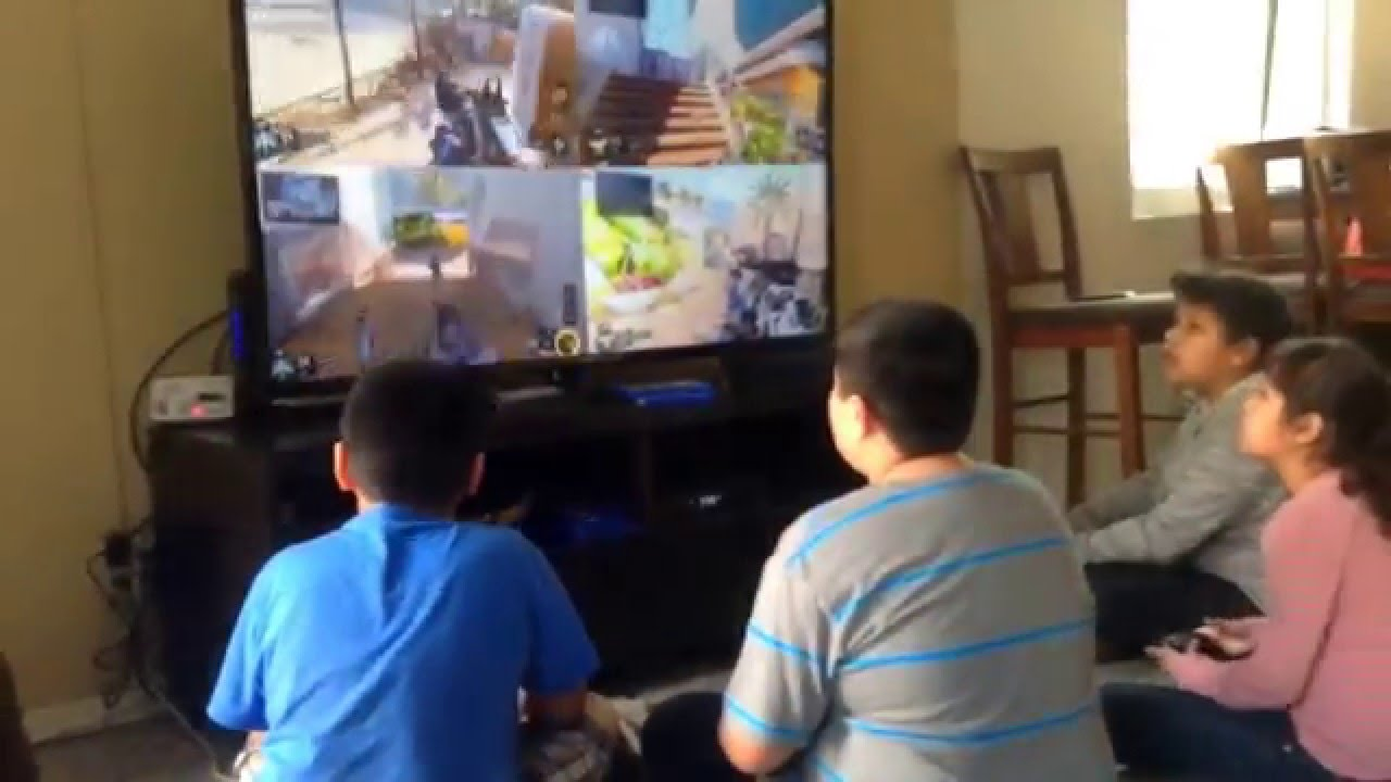 Crazy Kids Playing Old Games