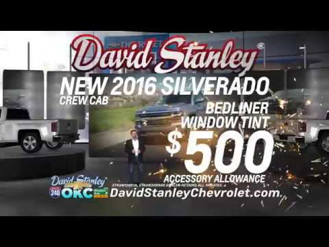 David Stanley Chevrolet: Oklahoma City Silverado