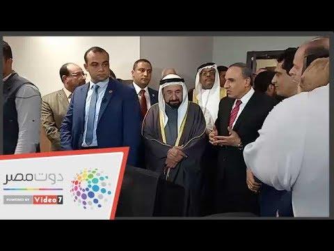 حاكم الشارقة فى نقابة الصحفيين لافتتاح مركز التدريب  - 18:54-2019 / 2 / 5