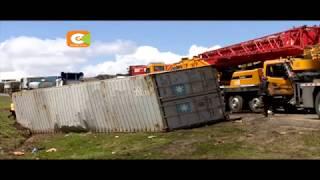 Msongamano mkubwa washuhudiwa katika barabara kuu ya Nairobi-Mombasa