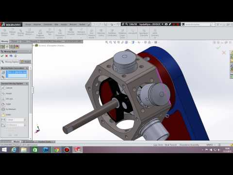 Pneumatic 6 Cylinder Radial Engineb(Final Assembly 1 )