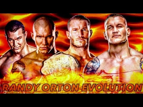 THE EVOLUTION OF RANDY ORTON TO 2002-2020