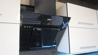 Встановлення (монтаж) похилій витяжки KRONA на кухні. Повний процес.