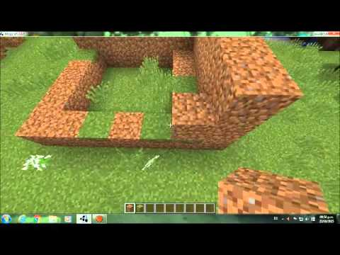 Como Hacer Un Bloque De Hierba Vercion Grande En Minecraft Video Oficial Youtube