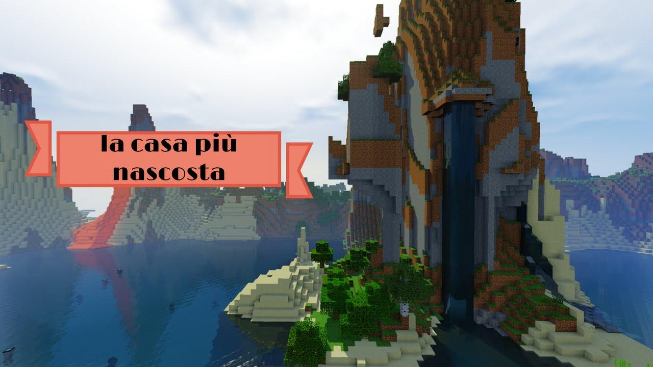Case Di Montagna Minecraft : La casa di redstone piu nascosta e geniale di minecraft