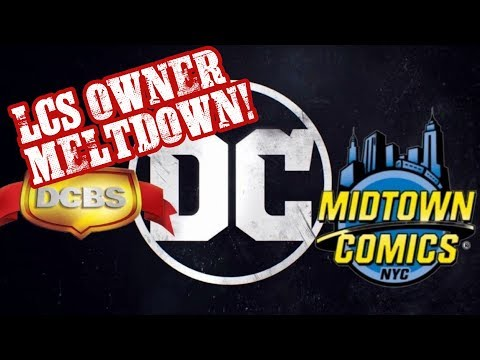 Comic Book Retailers MELTDOWN Over DC's New Comics Plan