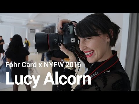 Fohr Card Features - NYFW 2016 - Lucy Alcorn, Portrait and Fashion Photographer