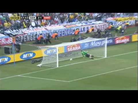 Frank Lampard's DISALLOWED Goal: Germany v England World Cup South Africa 2010 Last Sixteen