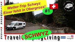 #1 | Wetter-Trip Kanton Schwyz | Freistehen bei Einsiedeln | Ein Mitreisender fehlt