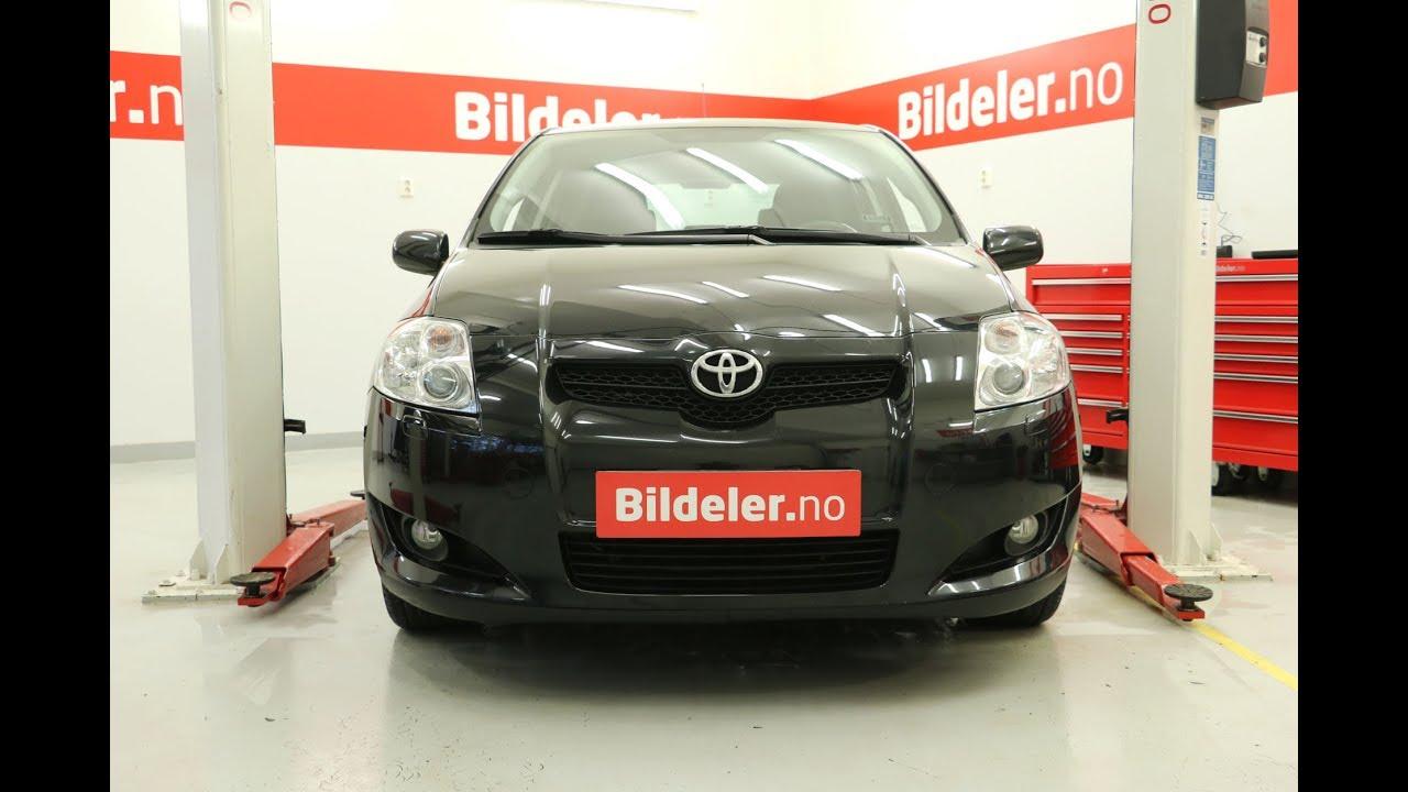 Toyota Auris Hvordan Bytte Termostat 1 4 Diesel D 4d 2007 Til