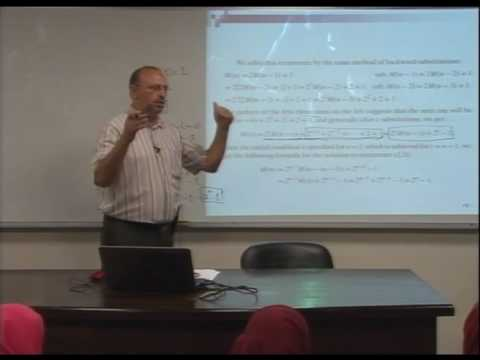 Lecture 7: Fundamentals of the Analysis of  Algorithm Efficiency -5