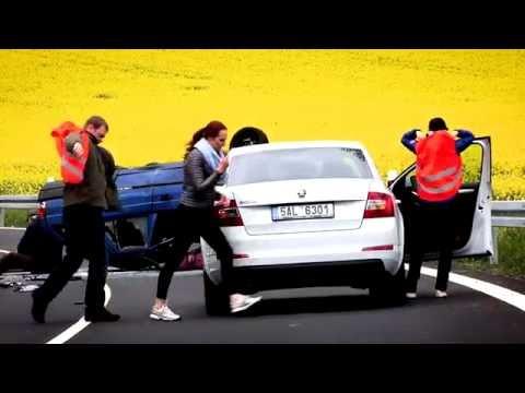 Dopravní nehoda...? TY TO ZVLÁDNEŠ