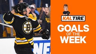 NHL Goals of The Week: Brad Marchand Shows Off His Hands