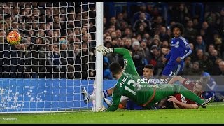 Chelsea 2:2 West Bromwich Albion - Premier League 2016 All Goals & Highlights 13/01/16 HD