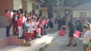 29 Ekim 2016 Cumhuriyet Bayramı kutlaması