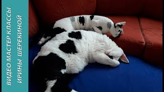 Кішка подушка, 3 ч.. Cat pillow, 3 ч.. Amigurumi. Crochet. Амігурумі. Іграшки гачком.
