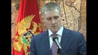 Potpredsjednik Vlade Igor Lukšić primio italijansku šeficu diplomatije Federiku Mogerini.
