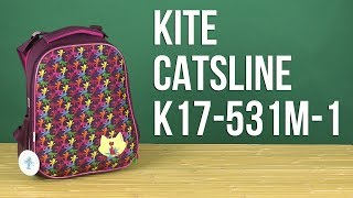 Розпакування Kite Catsline 19.5х13х3.7 см 16 л для дівчаток K17-531M-1
