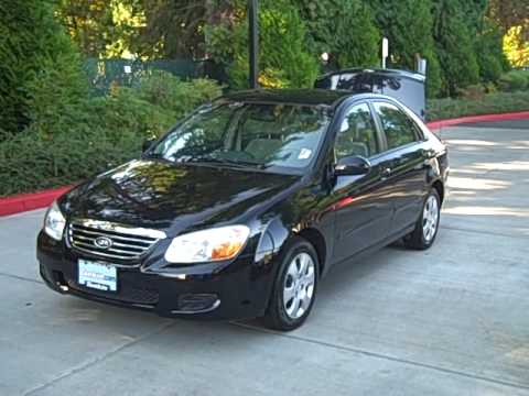 2007 Kia Spectra Ex One Owner Locally Owned Stock