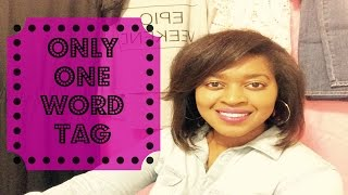 Only One Word Tag | Smileyquanta