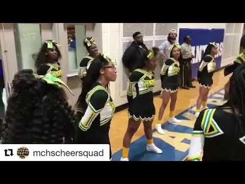 "Mchs highschool killing it ""set it up""❤️💪🏽"