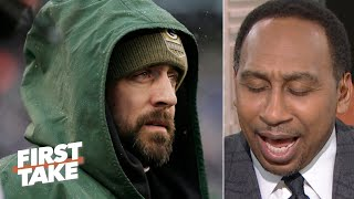 Stephen A. believes that 'baaaad' man Aaron Rodgers is going to take down the Seahawks | First Take