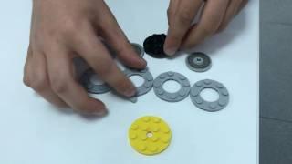 Legolarla Stres Çarkı Yapımı Hand Spinner with Lego