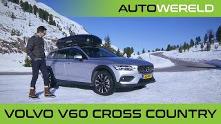 Volvo V60 Cross Country (2020) review | Winterspecial | RTL Autowereld test