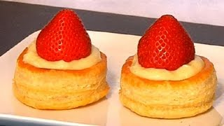 Fruit & Cream-filled Puff Pastry : Tips From A Pastry Chef