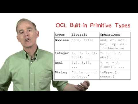 OCL Built in Types