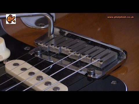 Tuning Stability In Tremolo/Whammy-Equipped Guitars