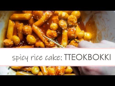 Tteokbokki | Spicy Rice Cake - Filipino Style