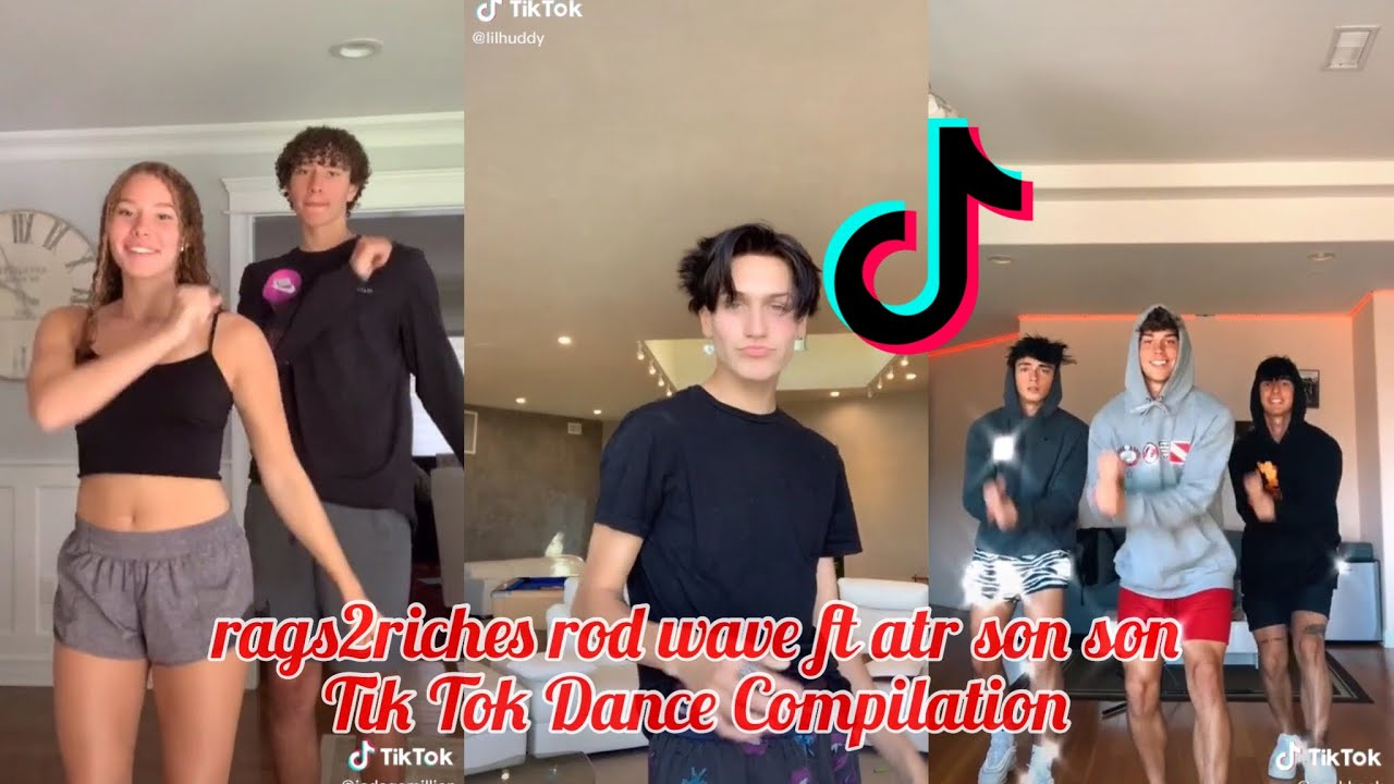 rags2riches rod wave ft atr son son ~ Tik Tok Dance Compilation