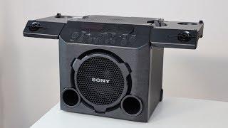SONY GTK-PG10 LAUTSPRECHER REVIEW