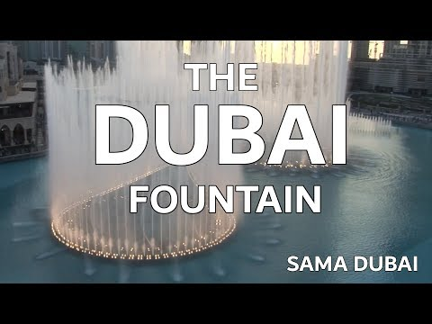The Dubai Fountain: Sama Dubai (Opener) Shot/Edited with 5 HD Cameras – 1 of 9 (HIGH QUALITY!)