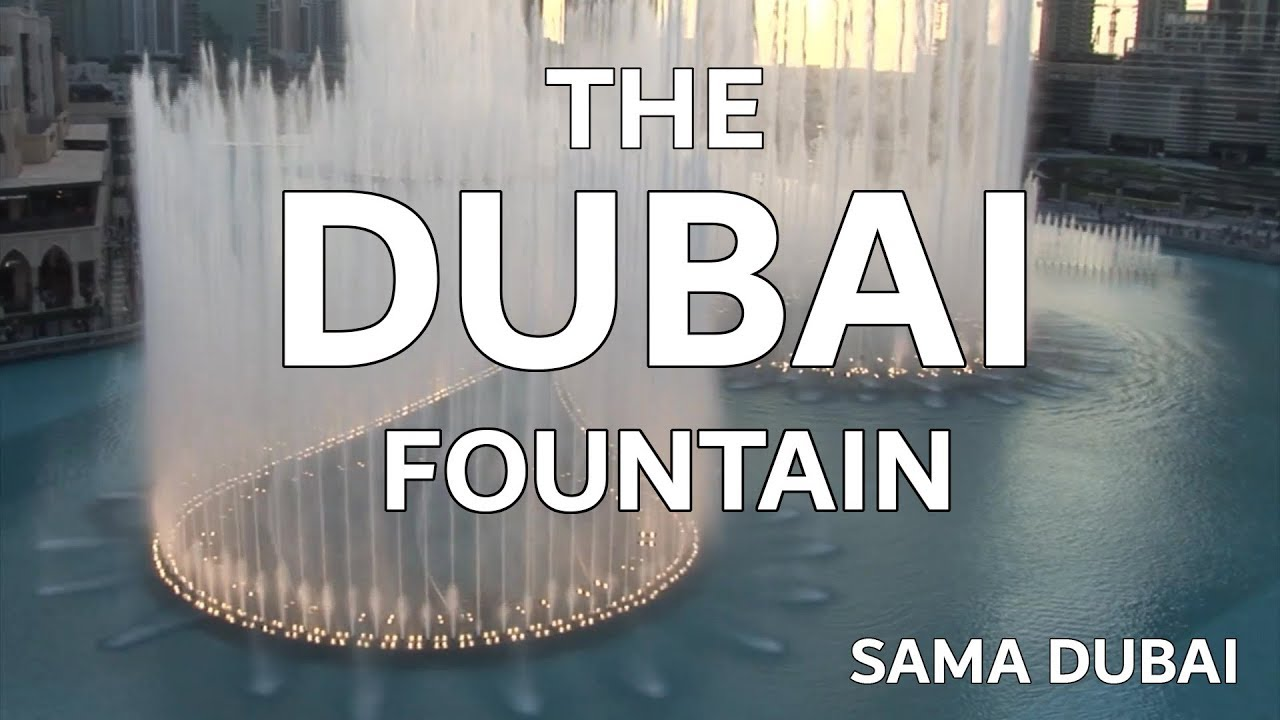 1f6997bb Dubai Fountain: The stories behind the music - The National