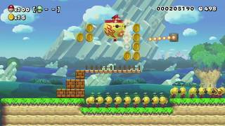 CORDUROY HYPOTENUSE ~ Easy 100 Mario Challenge - Super Mario Maker - No Commentary