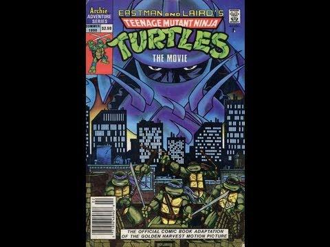 The Comic Vault: Ninja Turtles Movie Adaptation Review