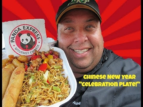 "PANDA EXPRESS® Chinese New Year ""Celebration Plate"" Review!"