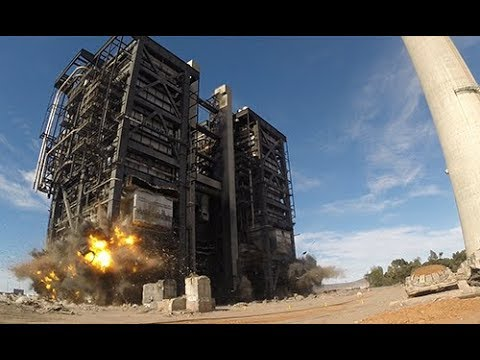 Augusta Power Station - Northern Power Station Boilers Demolition