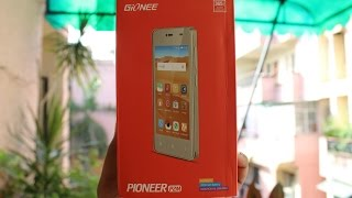 Gionee Pioneer P2M Unboxing & Hands on Overview