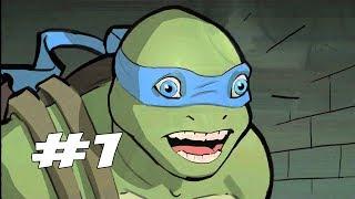 ПОЧЕМУ БЫ НЕ СЫГРАТЬ В ЧЕРЕПАХ - Teenage Mutant Ninja Turtles: Out of the Shadows - Прохождение #1