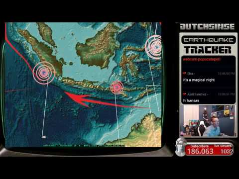 1/13/2017 -- Nightly Earthquake Update + Forecast -- California , Japan, and W. Pacific UNREST