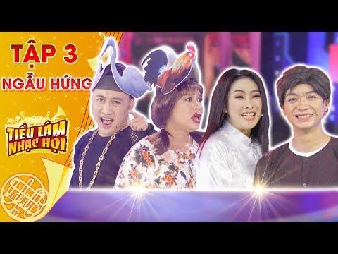 Tiếu lâm nhạc hội | Tập 3: Nhóm Ngẫu Hứng - Don Nguyễn, Minh Dũng với tiết mục Chuyện của Thắm