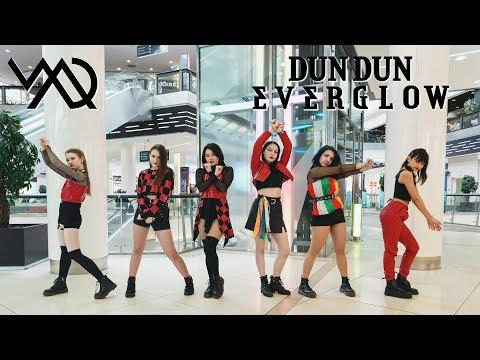 [KPOP IN PUBLIC RUSSIA] EVERGLOW (에버글로우) - DUN DUN Dance Cover by M.A.D
