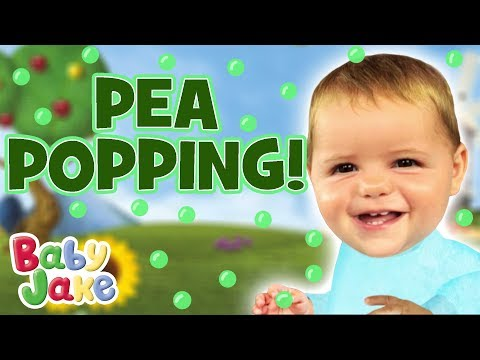 Baby Jake - Pea Popping | 60+ Minutes!