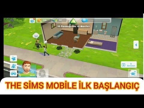 The Sims Mobile Oynadım #1 (ilk Başlangıç)