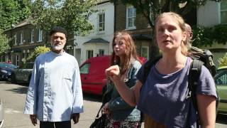 Anger at the scene of the Grenfell Tower fire.