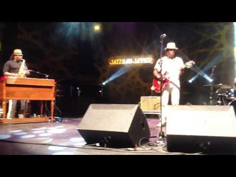 "Joe Louis Walker - ""You Don't Love Me Girl"" Jazz San Javier, 31/07/2015"