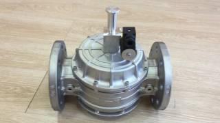 (Обзор) Электромагнитный клапан для газа Madas N.C. DN 80 с ручным взводом